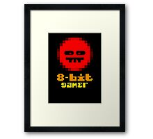 8-Bit Gamer Framed Print