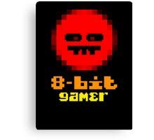 8-Bit Gamer Canvas Print