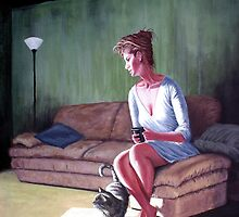 Coffee with a Friend by A. F. Branco