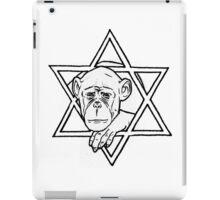 The monkey of wisdom iPad Case/Skin