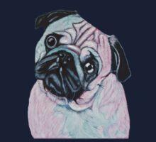 Artistic mr Pug Kids Tee