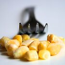 Corn and Fork by jahina