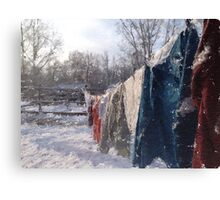 Winter's End II Canvas Print