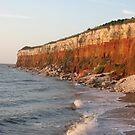 Hunstanton Cliffs by Susan E. King