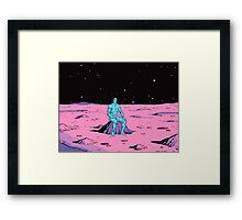 Dr Manhattan Framed Print