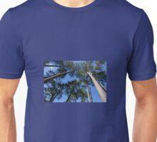 Tall Trees, Blue Sky Unisex T-Shirt