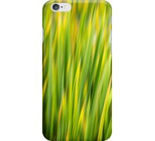 Green Nature Abstract iPhone Case/Skin