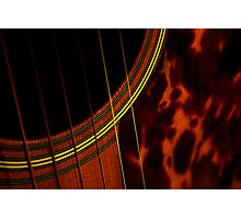 Shadows of music-Featured at Jazzed up Art-8/30/2009 Photographic Print