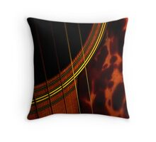 Shadows of music-Featured at Jazzed up Art-8/30/2009 Throw Pillow