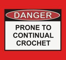 Danger - Prone To Crochet Kids Clothes