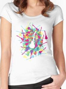 Rainbow Guitars Women's Fitted Scoop T-Shirt
