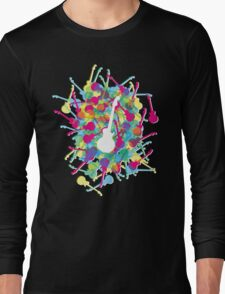 Rainbow Guitars Long Sleeve T-Shirt