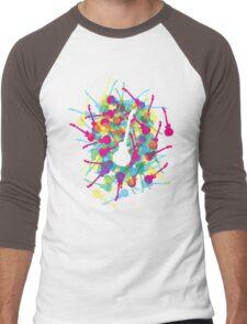 Rainbow Guitars Men's Baseball ¾ T-Shirt