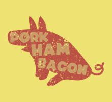 PORK HAM BACON Kids Tee