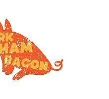 PORK HAM BACON by jazzydevil