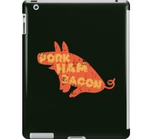 PORK HAM BACON iPad Case/Skin