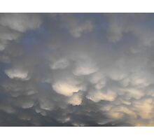 Heavy Rain Clouds Photographic Print
