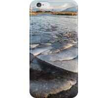 Ice Patterns in the Brecon Beacons iPhone Case/Skin
