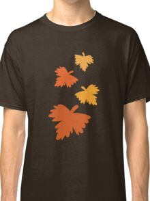 4 fall autumn leaves Classic T-Shirt