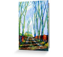 Warslow Village, Peak District National Park. Greeting Card