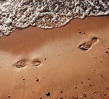 Foot Steps by Crystal Hensley