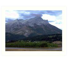Alberta Foothills Art Print