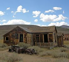Walked Away ~ A Ghost Town by Patty Boyte