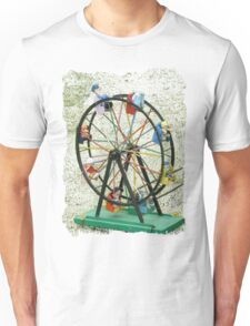 Round and round we go Unisex T-Shirt