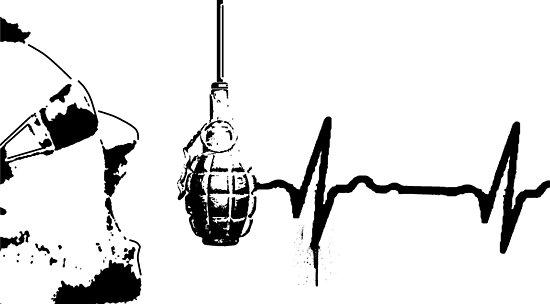 Really Cool Stencil Grenade Bigger by gfinchina