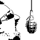 Really Cool Stencil Grenade by gfinchina