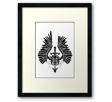 Winged Dagger Framed Print