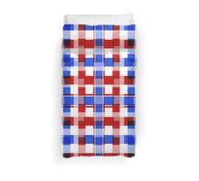 Patriotic Squares Duvet Cover