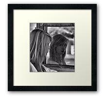 Mirror Mirror on the Garage Framed Print