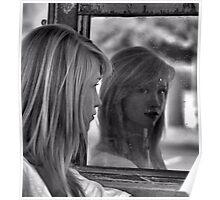 Mirror Mirror on the Garage Poster