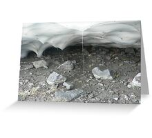 Ice Cave Greeting Card