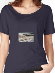 Welsh Winter in the Brecon Beacons Women's Relaxed Fit T-Shirt