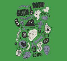 Doom & Gloom Alternative One Piece - Short Sleeve