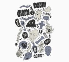 Doom & Gloom Alternative Kids Tee