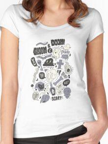 Doom & Gloom Alternative Women's Fitted Scoop T-Shirt