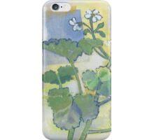 scented geranium two iPhone Case/Skin
