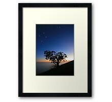 The Southern Cross. Framed Print