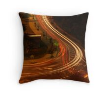 watch where you are going... Throw Pillow