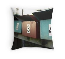 pick a number....any number  Throw Pillow