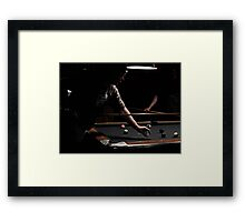 A Tough Game Framed Print