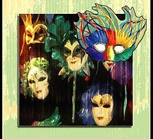 Happy Masks by semas
