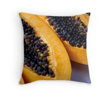 Fresh and Fruity Throw Pillow