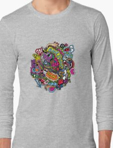 Scribble from my mind Long Sleeve T-Shirt