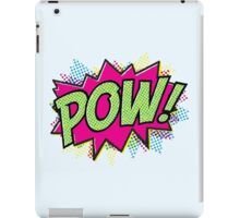 Pow! Cartoon iPad Case/Skin