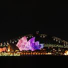 opera house illuminated by steveault