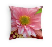 PRETY IN PINK Throw Pillow